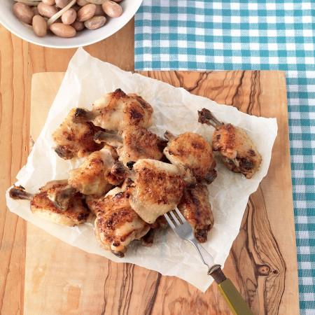 Ginger-Honey Chicken Wings