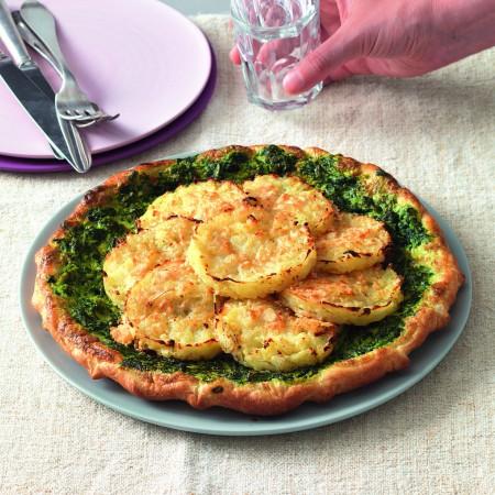 Spinach Pie with Rösti