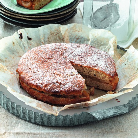 Pear and Chestnut Cake