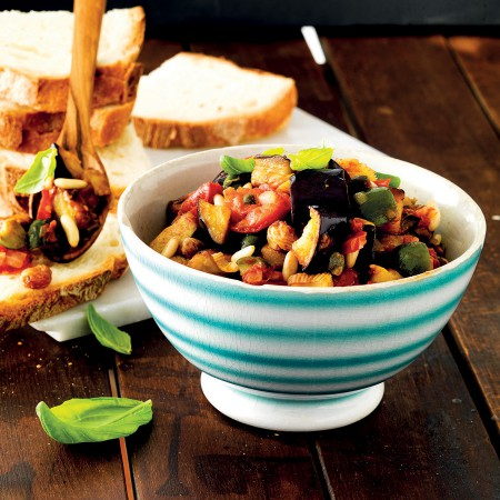 Eggplant Caponata: A Sweet and Sour Delight
