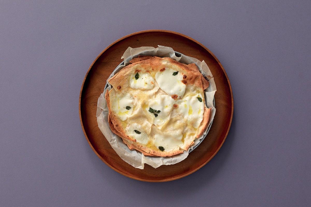 Cheesy Sardinian Flatbread