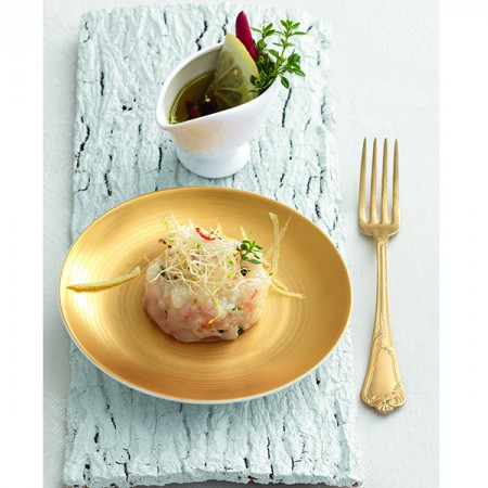 Citrus Thyme Shrimp Tartare