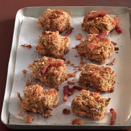 Artichoke Croquettes with Bacon