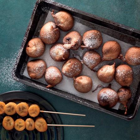 Deep-Fried Chocolate Truffles