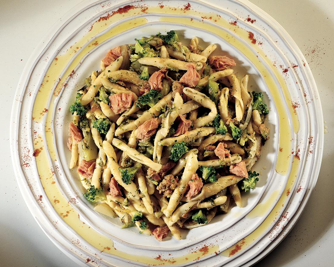 Casarecce Pasta With Broccoli and Tuna