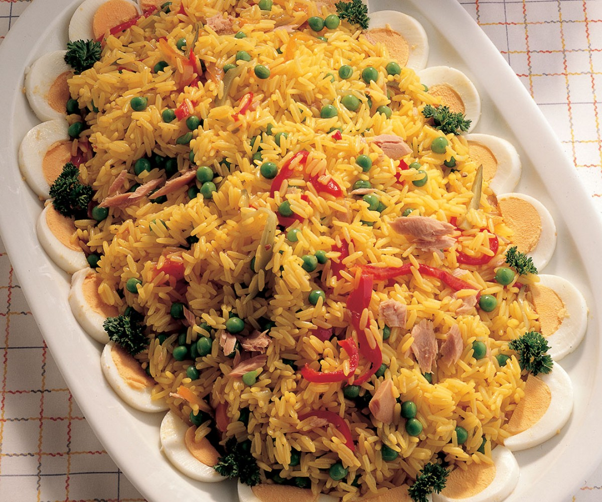 Saffron Rice Salad Recipe La Cucina Italiana