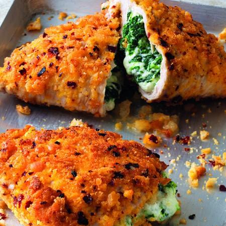 Turkey Pockets with Broccoli Rabe