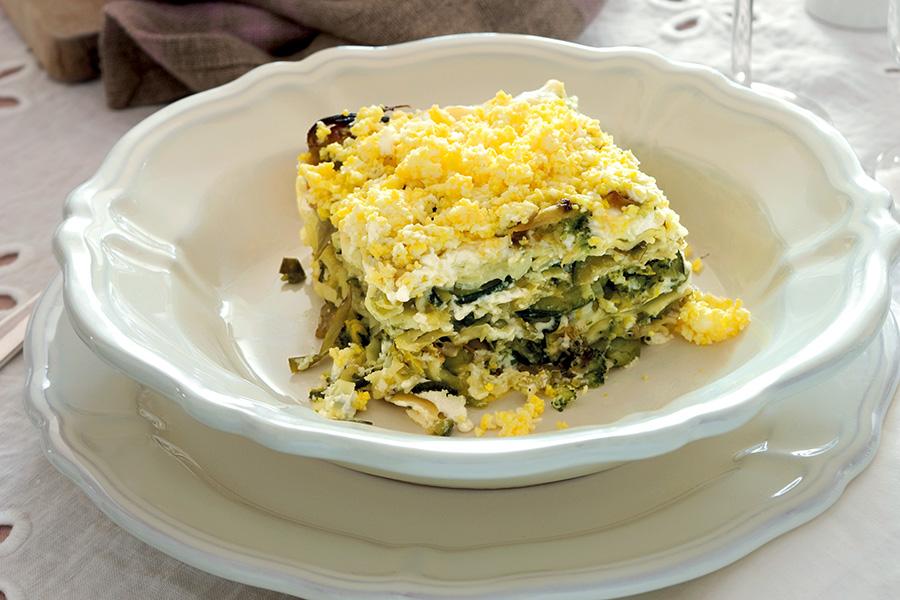 Lasagne With Vegetable Ragù