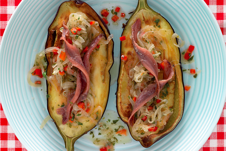Venetian-Style Eggplant With Anchovies