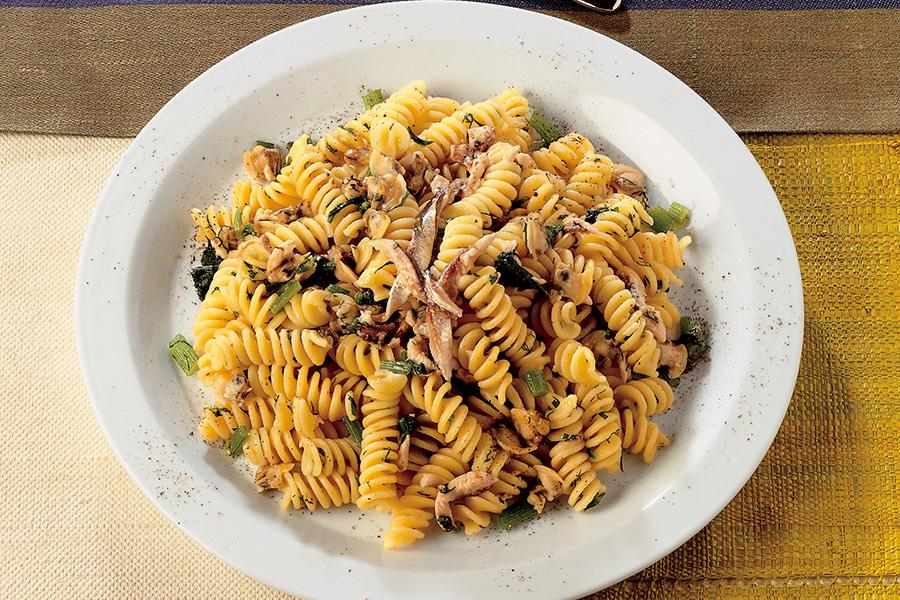 Fusilli With Sardines