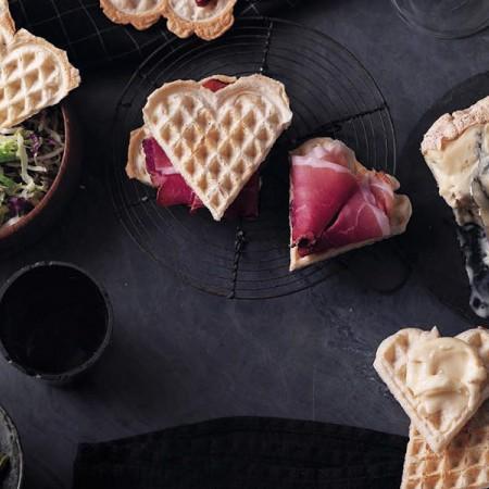 Piedmont-Style Waffle Sandwiches