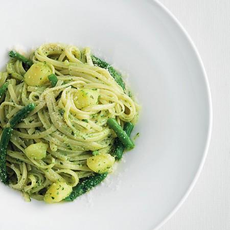 Trenette with Pesto