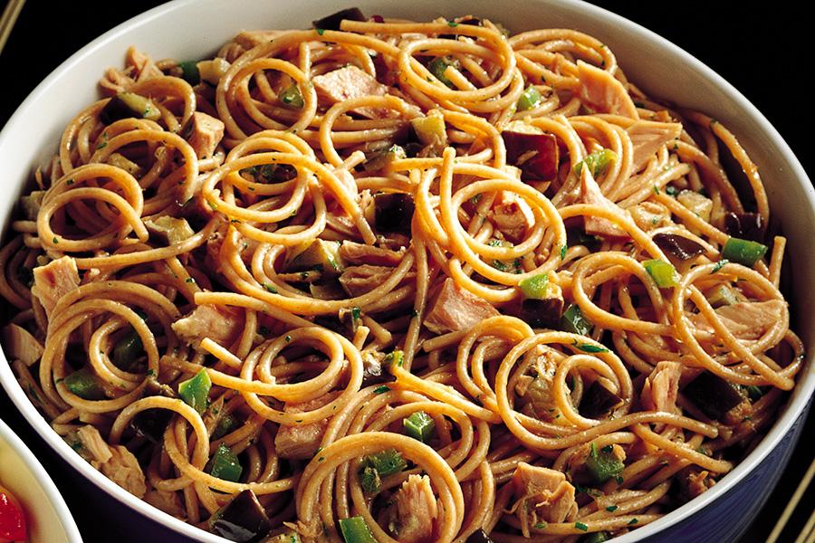 Whole Wheat Spaghetti With Tuna