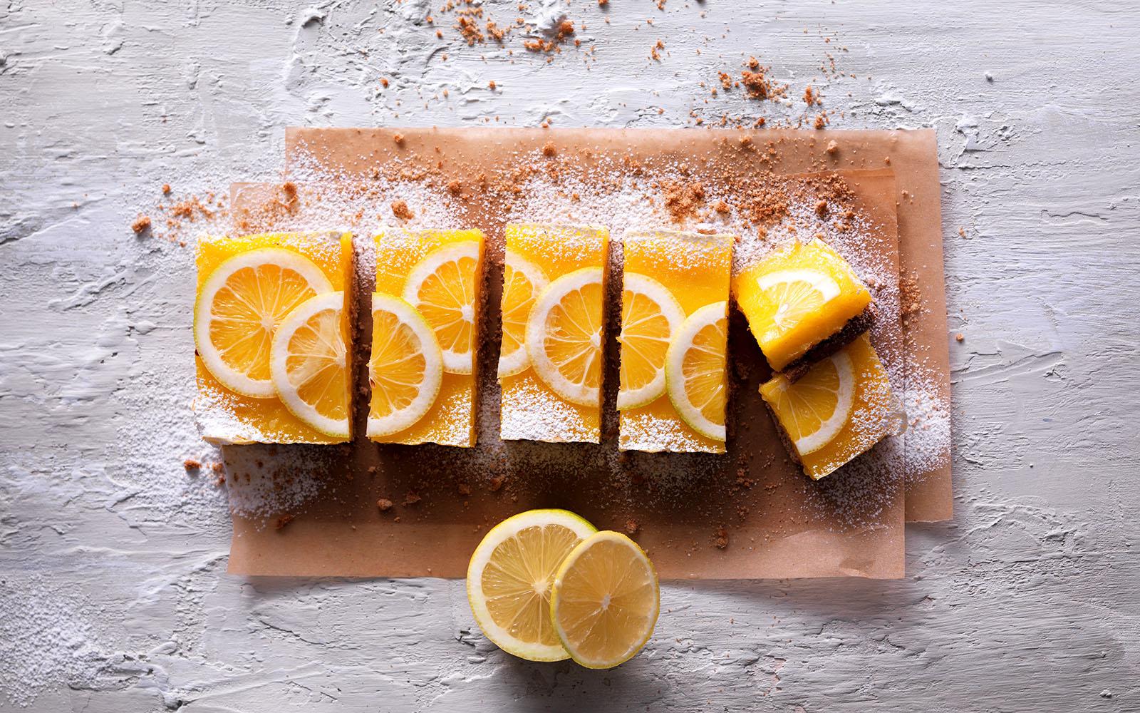 Cookie and Lemon Cream Tart
