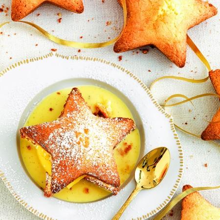 Soft Stars with Apple Mostarda Compote