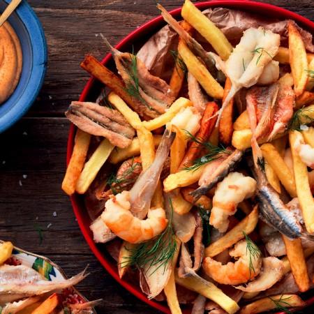 Italian-style Fish & Chips