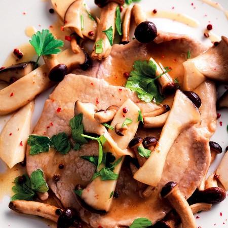 Mushroom Scaloppine