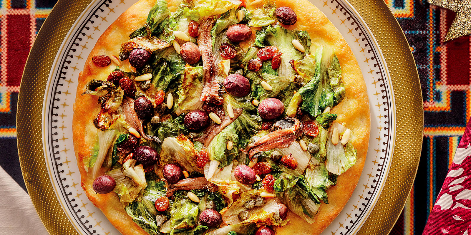 Open-Face Escarole Pie