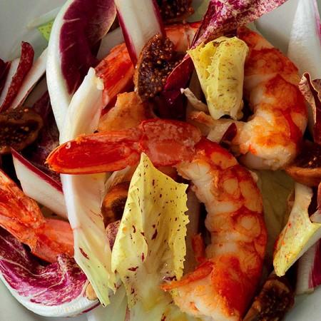 Shrimp and Radicchio