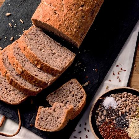 Rustic Seeded Sandwich Bread